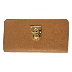 Michael Kors Hamilton Large Zip Leather Wallet